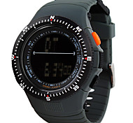 Men's Sport Watch / Fashion Watch / Wrist watch DigitalLED / Calendar / Water Resistant/Water Proof / Dual Time Zones / Alarm / Stopwatch