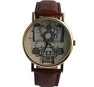 Boutique SLR Camera Quartz Leather Watch Women Fashion Watch