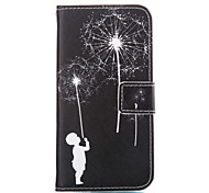 Boy Leather Wallet for Samsung Galaxy A5 A7 A3(2016) A5(2016) A7(2016)