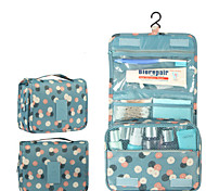 gancho bolsa de cosméticos bolsa de lavado multifuncional bolsa de viaje de acabado portátil
