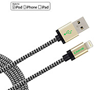 MFI Certified CARVE 4ft(1.2M)  Lightning to USB Sync and Charge Cable for Apple iPhone 7 6s 6 Plus SE 5s 5/ iPad mini