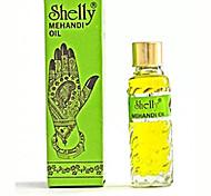 Хэллоуин Shelly Mehandi хной Менди масло для потемнение хну - краска для тела в комплект Tatto