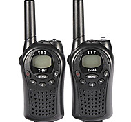 T-668 PMR Walkie Talkie for Kids Mini Pocket Handheld PMR Transceiver 5KM Range 8Channels Good Play Toys(1Pair)