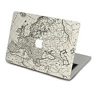 1 ед. Защита от царапин Прозрачный пластик Стикер для корпуса Ультратонкий / Узор ДляMacBook Pro 15 '' с Retina / MacBook Pro 15 '' /