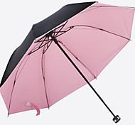 Black Folding Umbrella Sun Umbrella Uv Sunscreen Vinyl Umbrellas Clear Umbrellas Custom Logo