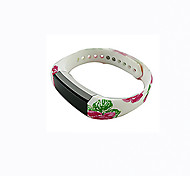 Smart Strap Bracelet Colorful Printing Silicone Bracelet For Fitbit Alta(06)