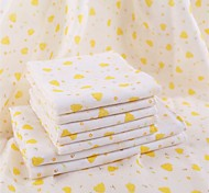 8 Pcs Full Cotton Bath Towel Set(1 Bath Towel, 2 hand Towel, 5 Wash Towel) Super Soft Random Color