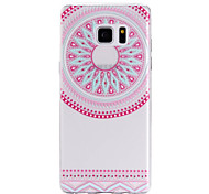 TPU Material Pink Circle Pattern Cellphone Case for Samsung Galaxy Note 7