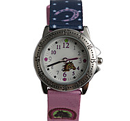 The New Style Of Nylon with Cartoon Horse Pattern Child Watch