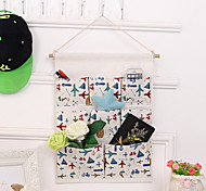Eight Pockets Behind The Door Home Furnishing Storage Bag