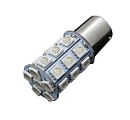 10X RED 1157 BAY15D 5050 27-SMD LED Bulbs Tail Brake Turn Light 7528 2057 1157A