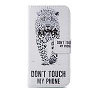 para el caso J5 Galaxy de Samsung 2017 J3 cubrir la cartera de piel de leopardo para la galaxia J1 J5 J7 2016 2017