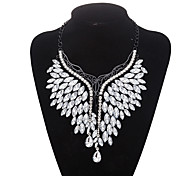 Xu Women 's Exaggerated Personality Fashion Leisure Glass Alloy Necklace