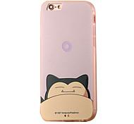 The Black Cat Cartoon Pattern PC Material Phone Case for iPhone 5 5S 5E 6 6S 6 Plus 6S Plus