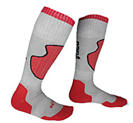 Skifahren Socken schwarz rot