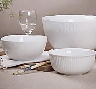 adivinar contraído alta temperatura de cerámica de porcelana blanca serie