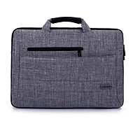 "Brinch Handbag for 14""/15"" Laptop  Solid Color Nylon Material Brinch 14 15 Inch Computer Bag for Apple Dell Men And Women Fashion Briefcase"