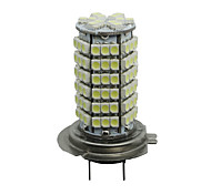 2 Car H7 3528 SMD 120 LED White Bulbs Fog Lamp Light