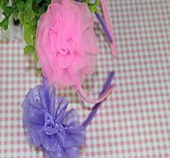 Ободки Ткань Фиолетовый Розовый Повседневные