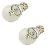 4 E26/E27 Lampadine globo LED G45 20 SMD 2835 360 lm Luce fredda Decorativo AC 85-265 / AC 220-240 / AC 100-240 / AC 110-130 V 2 pezzi