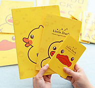 2104 64K Small Yellow Duck A6 Car This Cute Animal Portable Notebook Notepad