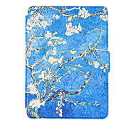 For New Kindle 2016 Reader Smart Ebook  Cases Colorful Painted Leather Case Flip Cover Multocolor