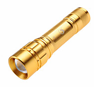 U'king ZQ-G008 3 Mode 600LM  Adjustable Focus / Compact Size LED Flashlights