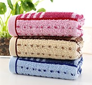 1PC Full Cotton Hand Towel Super Soft 12 by 28 inch Stripe Pattern Strong Water Absorption Capacity