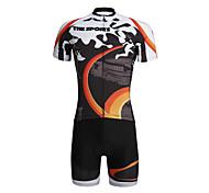 PaladinSport Men 's Cycyling Jersey + Shorts Suit DT653 Sports Field  100% Polyester