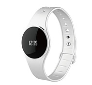 pulseira wristfit inteligente l16 com notificações de atividade tempo de cuidados de saúde