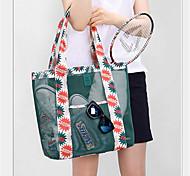 bolsa de la compra bolsa de viaje de malla solo bolso del bolso de la playa bolsa de aseo viajes