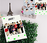 Got7 Let'S Dance Album Of New Songs Stationery Pouches Largest Notebook