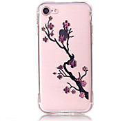 Per Custodia iPhone 7 / Custodia iPhone 7 Plus / Custodia iPhone 6 Transparente / Fantasia/disegno / Decorazioni in rilievo Custodia