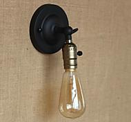 bulbo incluido apliques de pared, rústico / casa de campo de metal e27