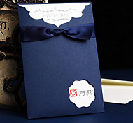 The New European-Style Wedding Invitations Blue Creative Business Invitations Wedding Invitations