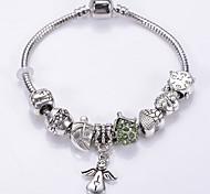 Fashion Jewelry Bracelets&brangle Glass European Beads bracelets for Women Gift Strand Beads bracelets BLH7238