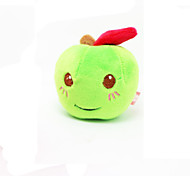 Cat / Dog Pet Toys Plush Toy / Squeaking Toy Squeak / Squeaking Red / Green Plush