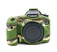 dengpin® мешок случая крышки резиновая кожа мягкая силиконовая камера броня для Canon EOS 70D (разных цветов)