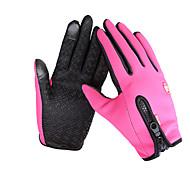 Cycling Gloves / Ski Gloves / Touch Gloves Winter Gloves Unisex Keep Warm Ski & Snowboard Pink / Black / Blue Canvas Free Size