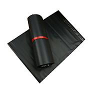 mensageiro saco preto embalagem especial impermeável espessura (28 * 42)