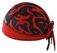 Банданы Велоспорт Дышащий Антибактериальный Впитывает пот и влагу Защита от солнечных лучей унисекс Красный Терилен