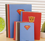 Creative Superman Theme Car Line Notepad Small