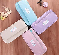 School Supplies Small Fresh Simple Stationery Pencil Case Large Capacity Rich Velvet Pencil Case