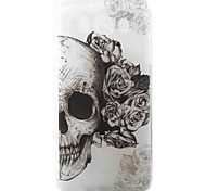 Skull Pattern Material TPU Phone Case for Samsung Galaxy J3 J5 J7 J1(2016) J510 J710 G530