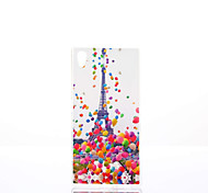 Eiffel Tower Pattern TPU Material Phone Case for Sony Xperia Z5
