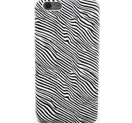 Zebra Pattern PU Leather Material Soft Phone Case for iPhone  6 6S  6 Plus 6S Plus