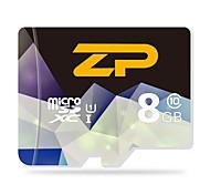 ZP  8GB UHS-I U1 / Class 10 MicroSD/MicroSDHC/MicroSDXC/TFMax Read Speed80 (MB/S)