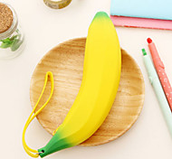 Silicone Banana Design Pen Bag