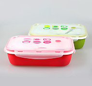 YEEYOO Brand Durable Lunch Boxes with 4 Side Locking Lid China Factory