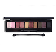 10 Color Eye Shadow Palette Fashion Cosmetics Mineral Make Up Makeup Eyeshadow Set for Women 4 Style Color